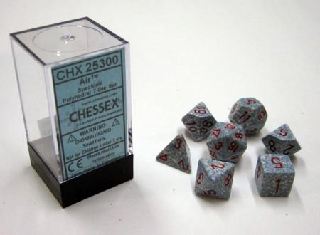 Air Speckled Polydice Dobbelsteen Set (7 stuks)