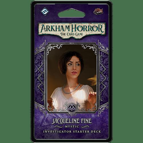 Arkham Horror LCG Jacqueline Fine Investigator Deck