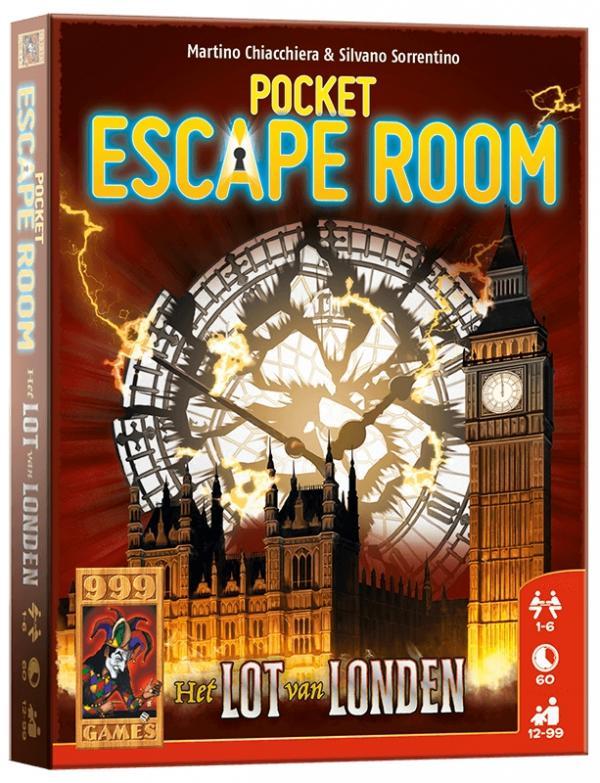Pocket Escape Room: Het lot van Londen - Kaartspel
