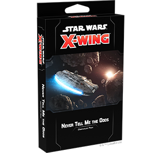 Star Wars X-wing 2.0 Never Tell Me the Odds Obstacles Pack