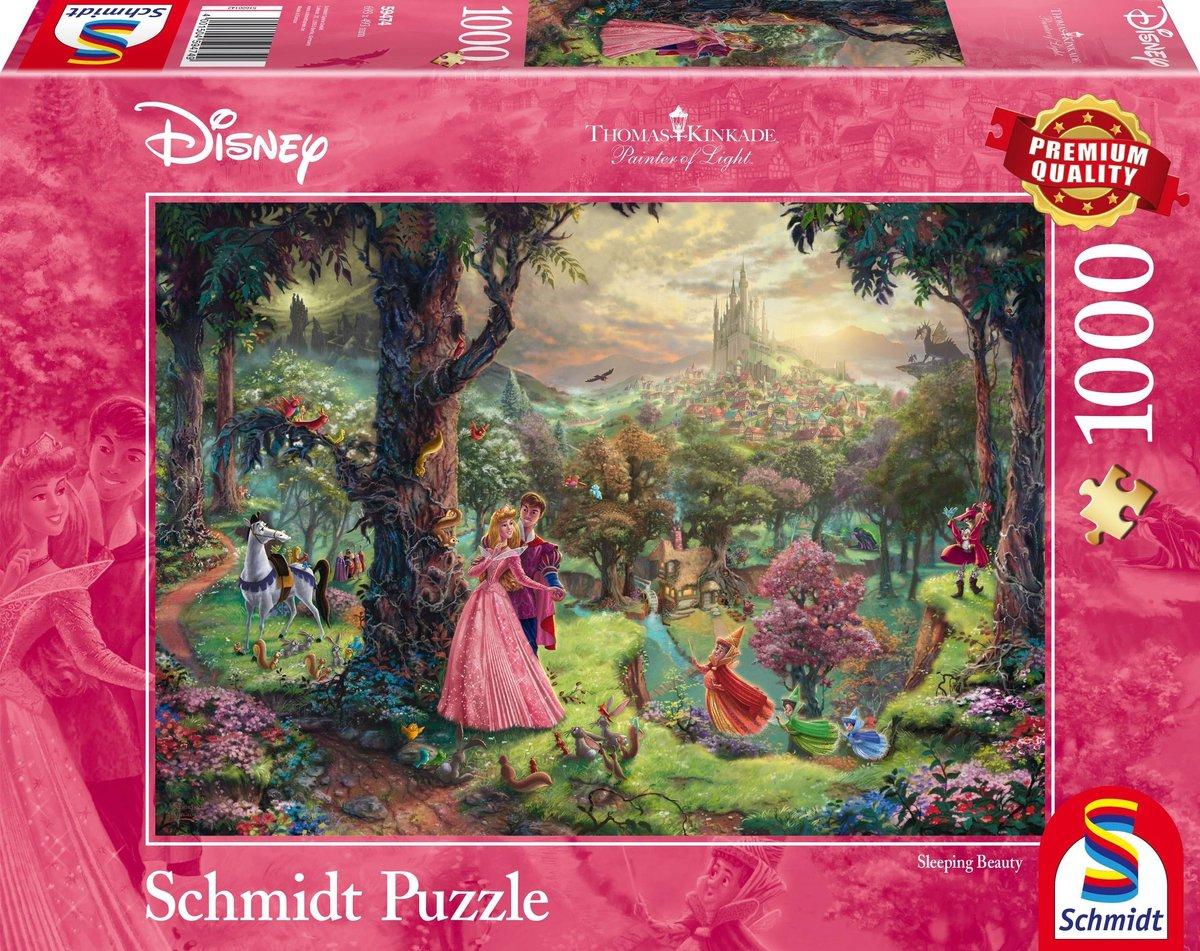 Disney Sleeping Beauty, 1000 stukjes