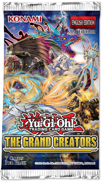Yu-Gi-Oh: The Grand Creators - Booster