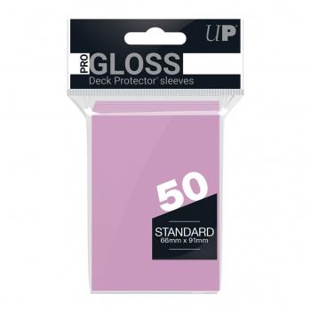 Sleeves: Bright Pink Standard (50)