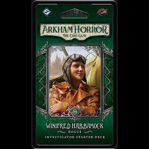 Arkham Horror LCG Winifred Habbamock Investigator Deck