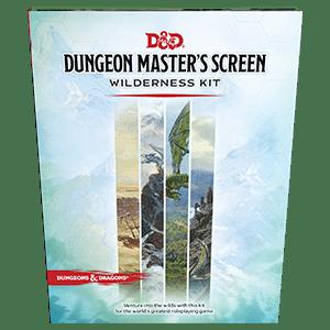 D&D 5.0: Dungeon Master's Screen Wilderness Kit