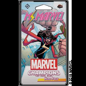 Marvel LCG Ms. Marvel Hero
