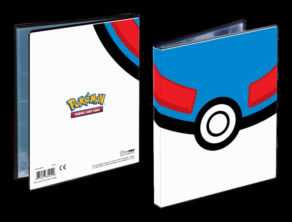 Portfolio: Pokemon Great Ball 4-Pocket