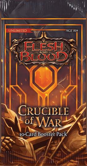 Flesh & Blood TCG: Crucible of War Unlimited - Booster