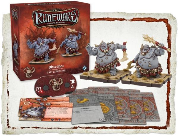 RuneWars Obscenes Unit Expansion