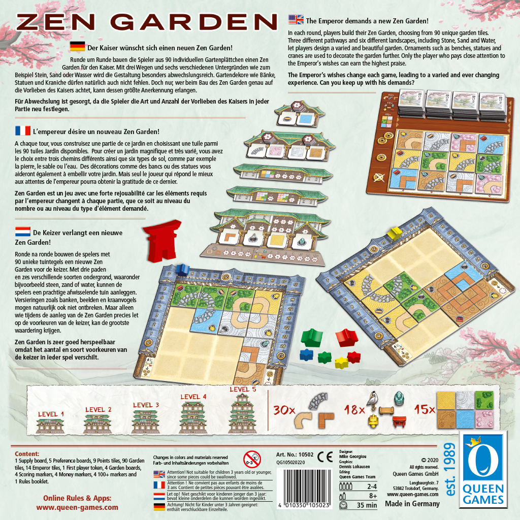 Zen Garden - Bordspel