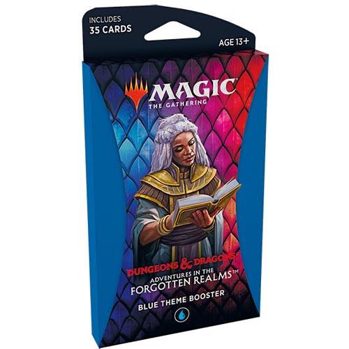 Magic: Forgotten Realms Theme Booster - Blue