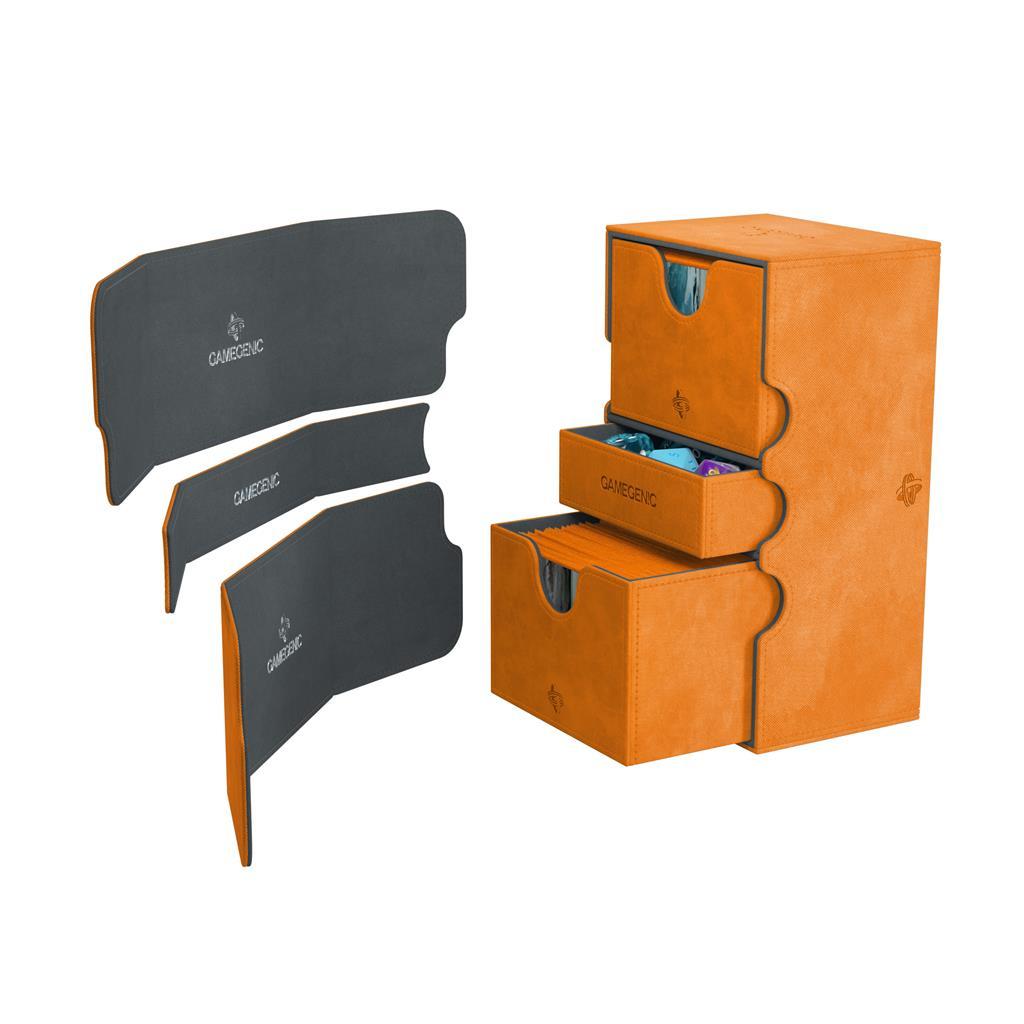 Deckbox: Stronghold 200+ Convertible Orange