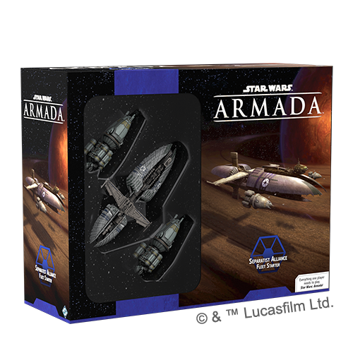 Star Wars Armada Separatist Alliance Fleet