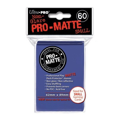 Sleeves: Pro-Matte Blue Small