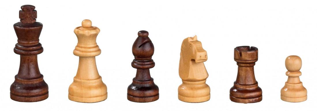 Schaak/Backgammon Kassette Veld 32 mm, Koningshoogte 65 mm