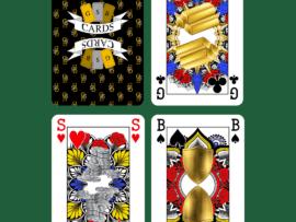 GSB Signature dubbelpak speelkaarten (bridge)