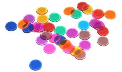 Fiches voor Bingo, Lotto en Kienen