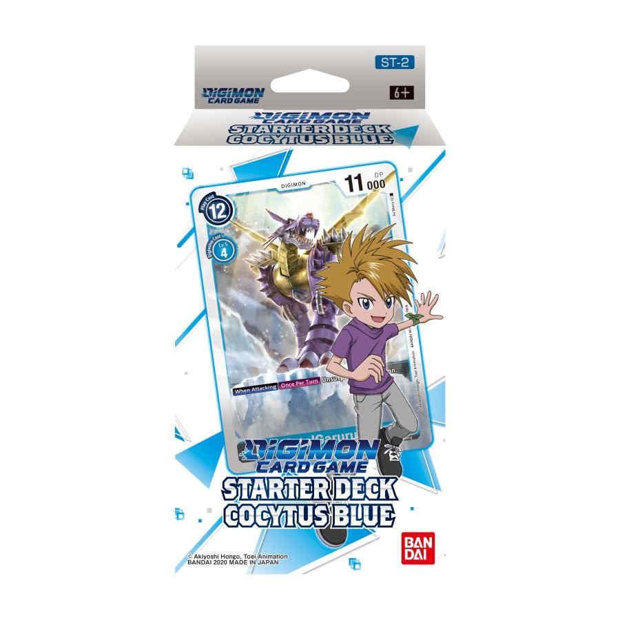 Digimon Card Game: Starter Deck - Cocytus Blue
