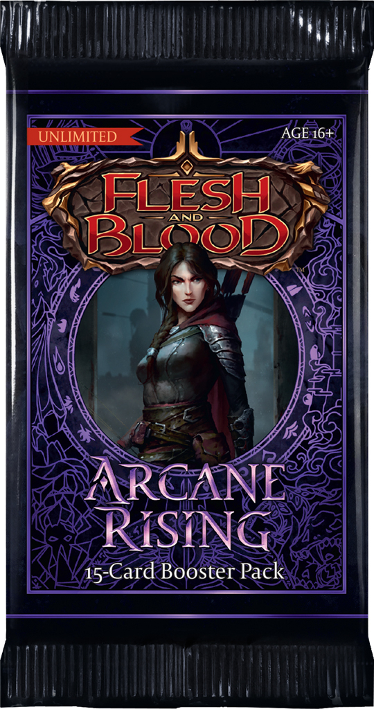Flesh & Blood: Arcane Rising Unlimited - Booster