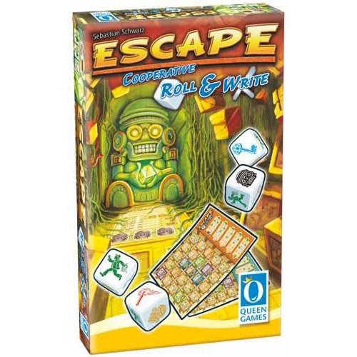 Escape Roll & Write - Dobbelspel