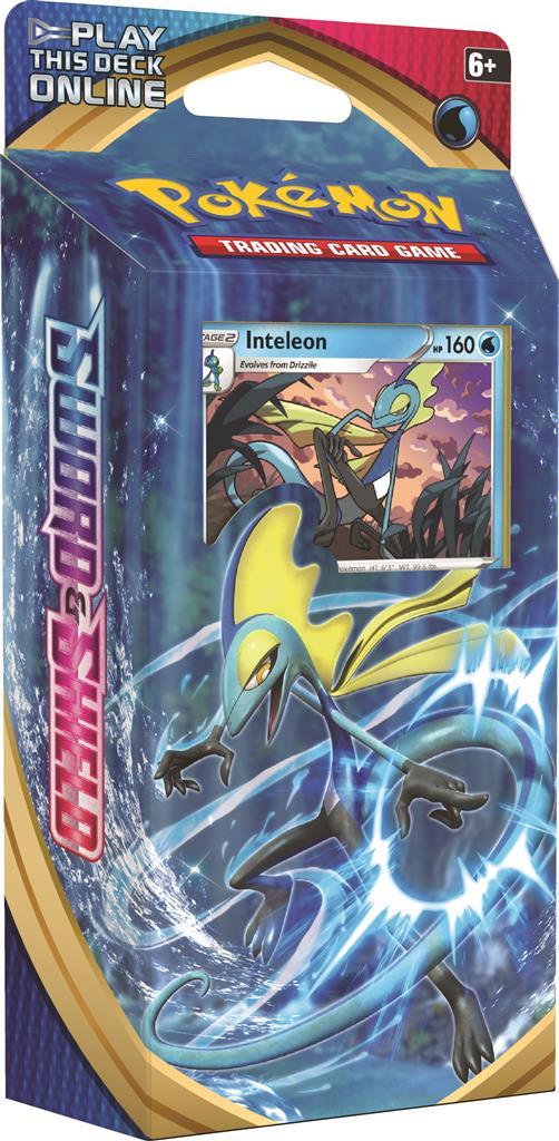 Pokemon: Sword & Shield - Theme Deck: Inteleon