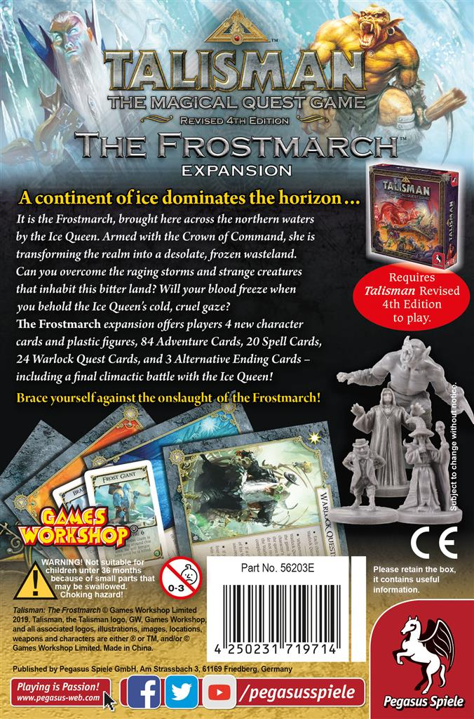 Talisman 4th Edition - The Frostmarch