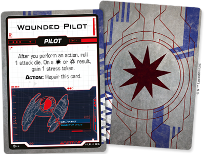 Star Wars X-wing 2.0 Separatist Damage Deck