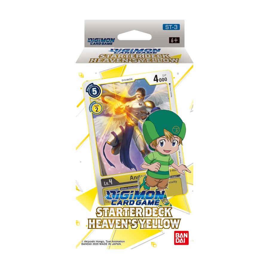 Digimon Card Game: Starter Deck - Heaven's Yellow