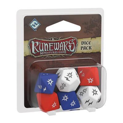 Runewars Miniatures Game Dice Pack