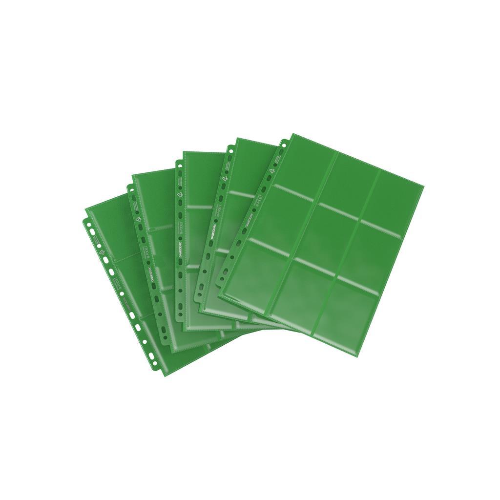 Sideloading 18-Pocket Pages Display Green (50)