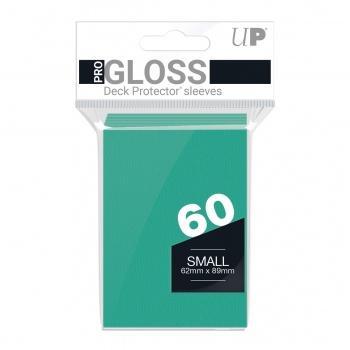 Sleeves: Bright Aqua Small (60)