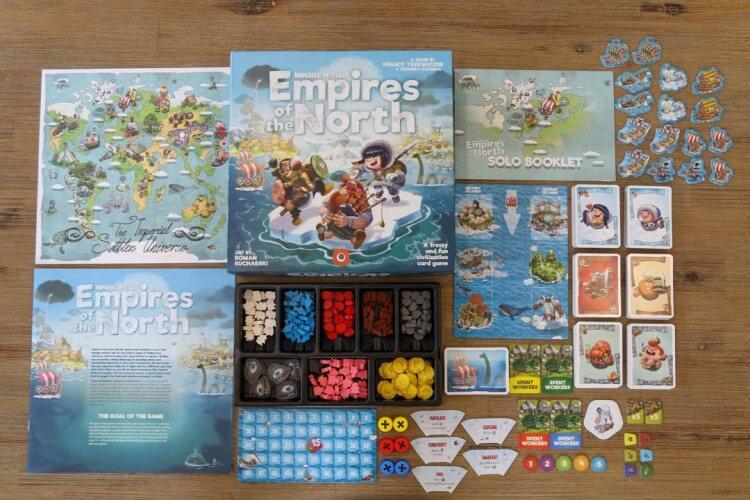 Empires of the North - Bordspel
