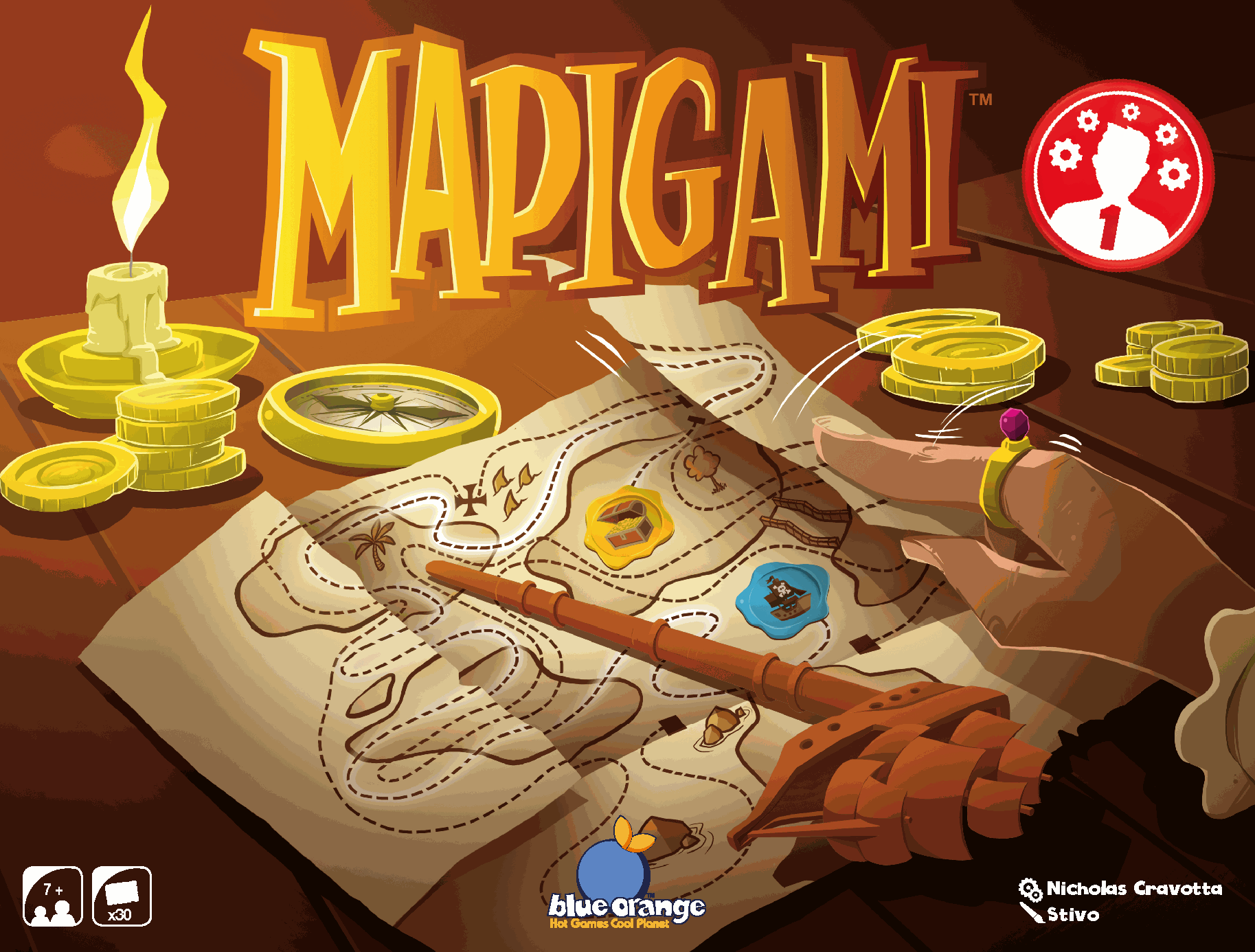 Mapigami - Breinbreker