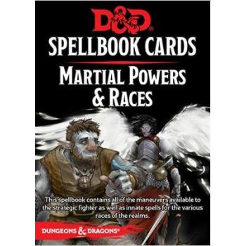 D&D Spellbook Cards - Martial Powers & Races (61 Cards)