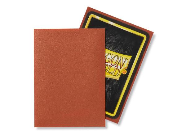 Dragon Shield Sleeves - Copper Matte