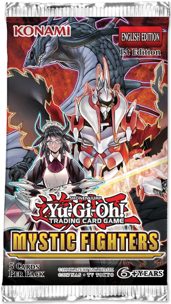 Yu-Gi-Oh: Mystic Fighters - Booster