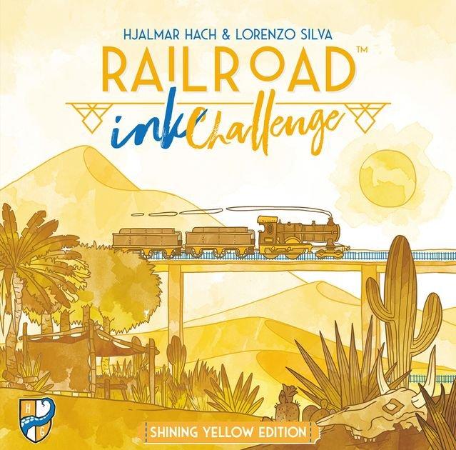 Railroad Ink Shining Yellow Edition