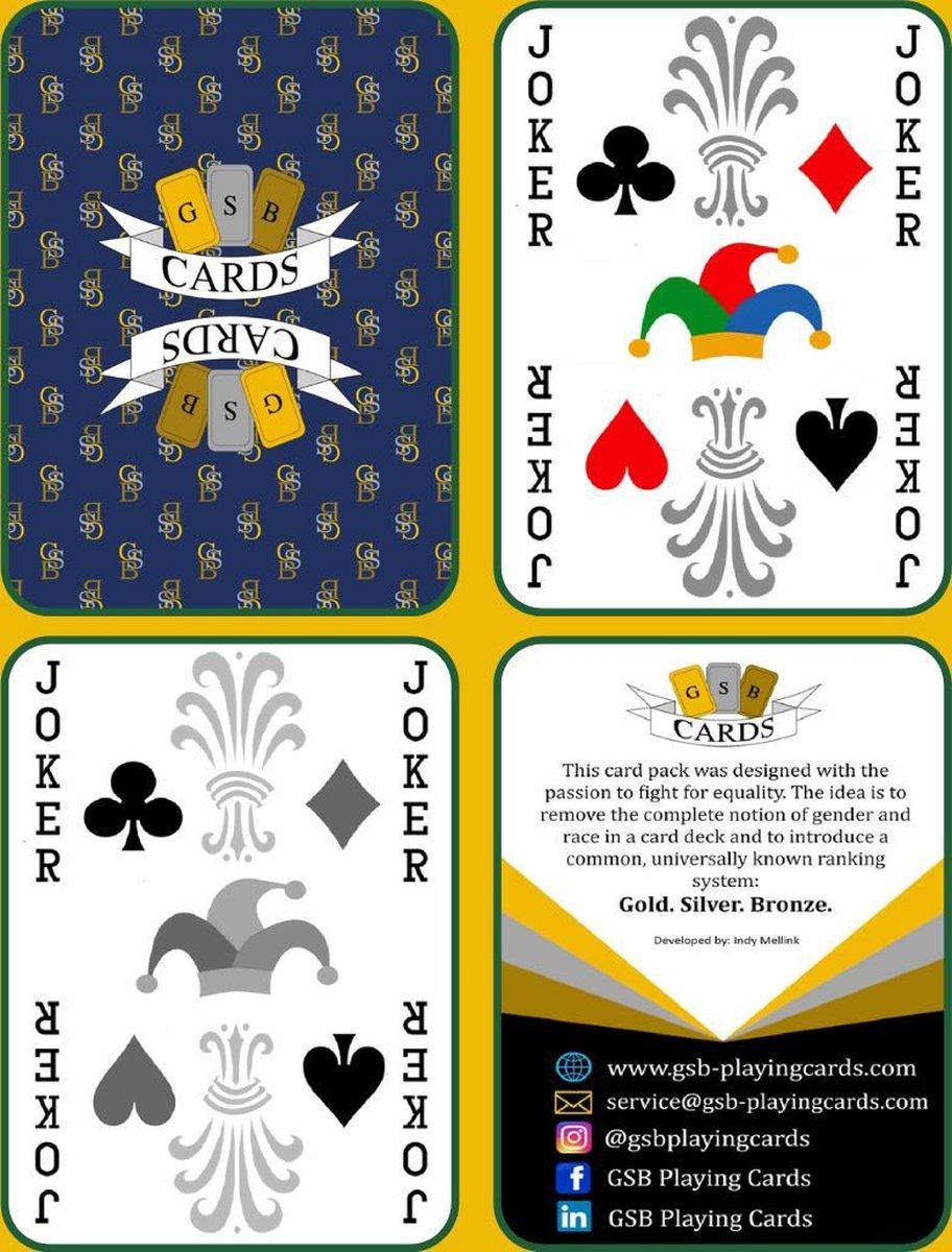 GSB Signature speelkaarten (poker)