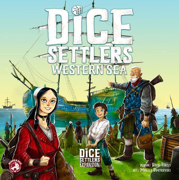 Dice Settlers Western Sea - Dobbelspel