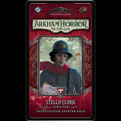 Arkham Horror LCG Stella Clark Investigator Deck