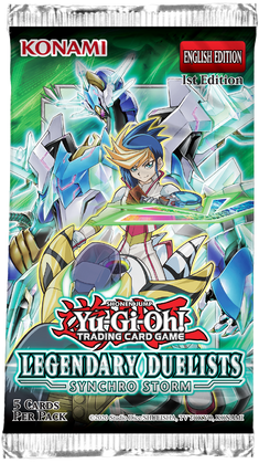 Yu-Gi-Oh: Legendary Duelists 8: Synchro Storm - Booster
