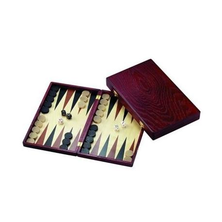 Backgammon Kassette Naxos - Klein