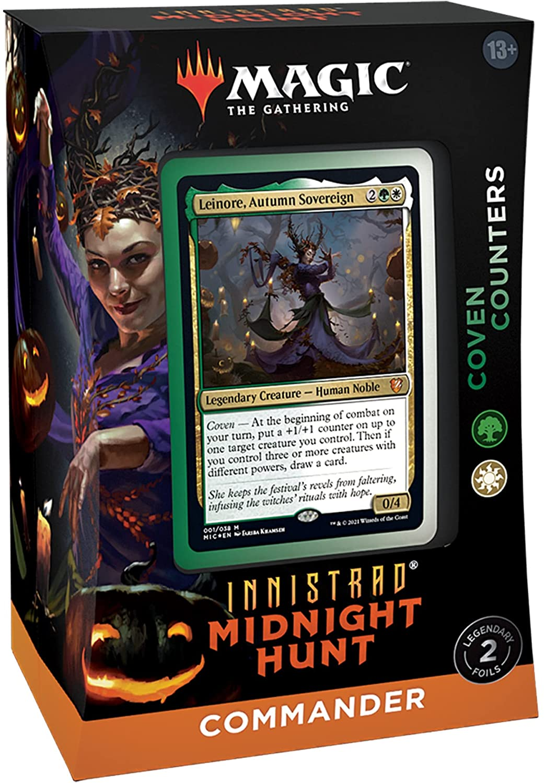 Magic: Innistrad Midnight Hunt Commander Deck - Coven Counters