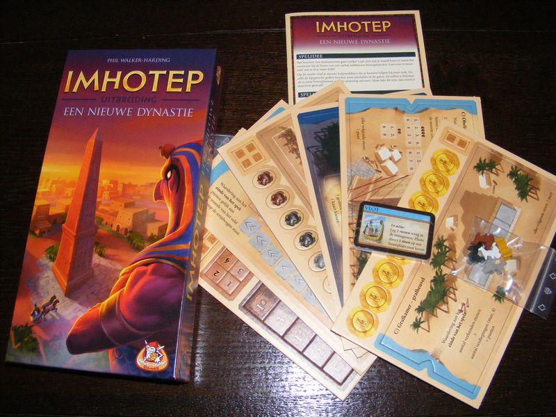Imhotep: A New Dynasty - Bordspel