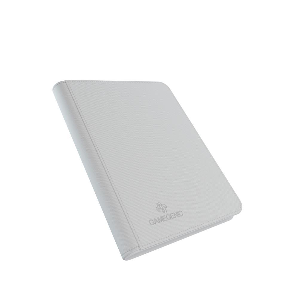 Zip-Up Album 8-Pocket White