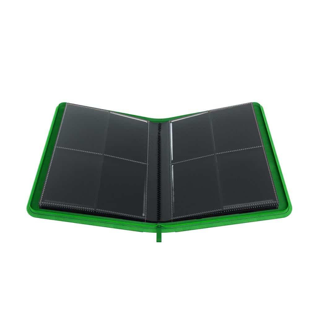 Zip-Up Album 8-Pocket Green