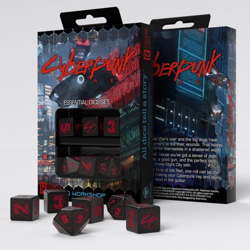 Cyberpunk Red Essential Dice Set (6)