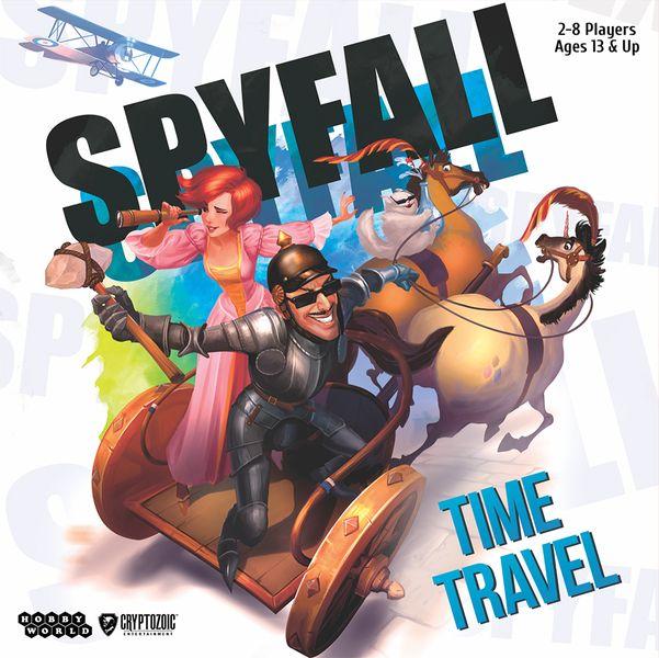 Spyfall Time Travel - Kaartspel