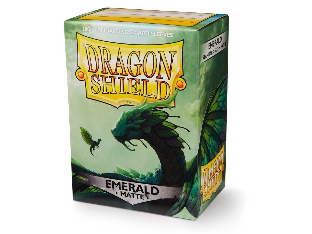 Dragon Shield: Matte Emerald