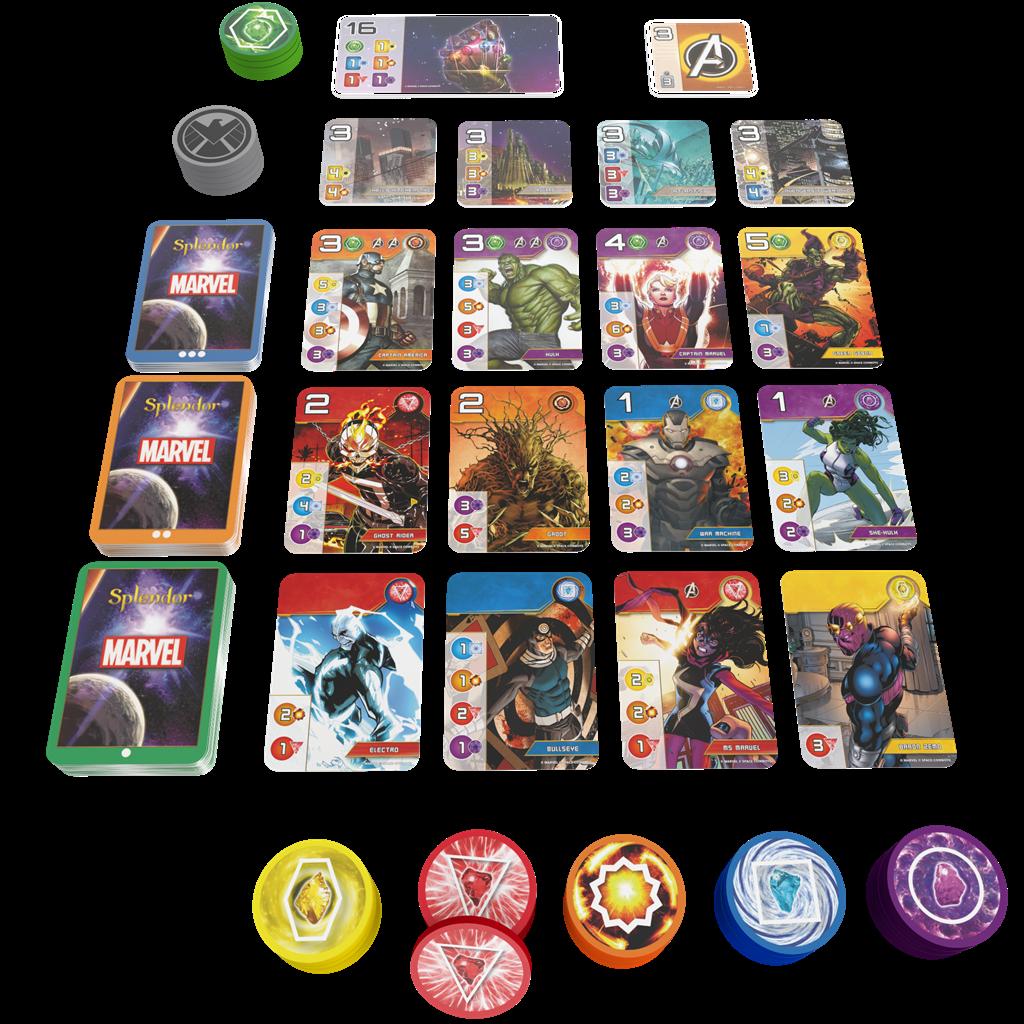 Splendor Marvel - Kaartspel